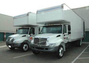 camión en movimiento Miami